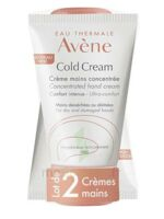 Avène Eau Thermale Cold Cream Duo Crème Mains 2x50ml à ROCHEMAURE