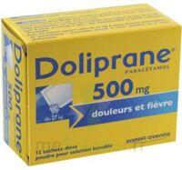 Doliprane 500 Mg Poudre Pour Solution Buvable En Sachet-dose B/12 à ROCHEMAURE