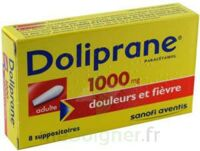 Doliprane 1000 Mg Suppositoires Adulte 2plq/4 (8) à ROCHEMAURE