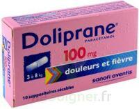 Doliprane 100 Mg Suppositoires Sécables 2plq/5 (10) à ROCHEMAURE