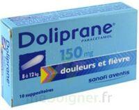 Doliprane 150 Mg Suppositoires 2plq/5 (10) à ROCHEMAURE
