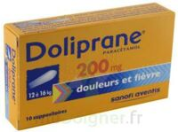 Doliprane 200 Mg Suppositoires 2plq/5 (10) à ROCHEMAURE