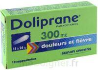 Doliprane 300 Mg Suppositoires 2plq/5 (10) à ROCHEMAURE