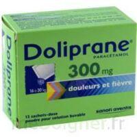 Doliprane 300 Mg Poudre Pour Solution Buvable En Sachet-dose B/12 à ROCHEMAURE