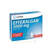 Efferalgan 1000 Mg Comprimés Pelliculés Plq/8 à ROCHEMAURE