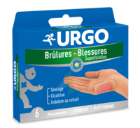 Urgo Brulures-blessures Petit Format X 6 à ROCHEMAURE