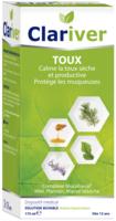 Clariver Solution Buvable Toux Sèche Et Productive Adulte Fl/175ml à ROCHEMAURE