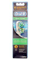 Brossette De Rechange Oral-b Dual Clean X 3 à ROCHEMAURE