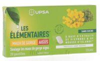 Les Elémentaires Sans Sucre Pastilles Maux De Gorge Aigus Menthe B/20 à ROCHEMAURE
