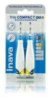 Inava Brossettes Tri Compact étroit  012 Noir 0,6mm/ Bleu 0,8mm/ Jaune 1mm à ROCHEMAURE