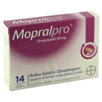 Mopralpro 20 Mg Cpr Gastro-rés Film/14 à ROCHEMAURE