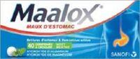 Maalox Hydroxyde D'aluminium/hydroxyde De Magnesium 400 Mg/400 Mg Cpr à Croquer Maux D'estomac Plq/40 à ROCHEMAURE