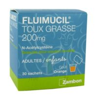 Fluimucil Expectorant Acetylcysteine 200 Mg Sans Sucre, Granulés Pour Solution Buvable En Sachet édulcorés à L'aspartam Et Au Sorbitol à ROCHEMAURE