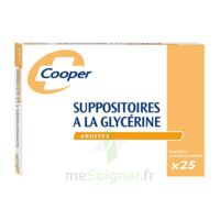 Suppositoires A La Glycerine Cooper Suppos En Récipient Multidose Adulte Sach/25 à ROCHEMAURE
