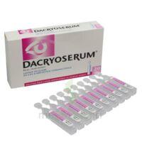 Dacryoserum Solution Pour Lavage Ophtalmique En Récipient Unidose 20unidoses/5ml à ROCHEMAURE