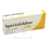 Speciafoldine 5 Mg, Comprimé à ROCHEMAURE