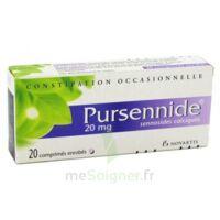 Pursennide 20 Mg, Comprimé Enrobé à ROCHEMAURE