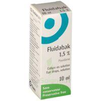 Fluidabak 1,5 %, Collyre En Solution à ROCHEMAURE