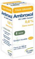 Ambroxol Eg Labo Conseil 0,6 %, Solution Buvable à ROCHEMAURE