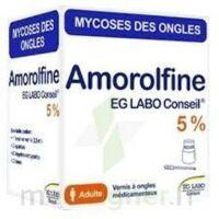 Amorolfine Eg 5 % V Ongles Médicamenteux 1fl/2,5ml+10 Spat à ROCHEMAURE