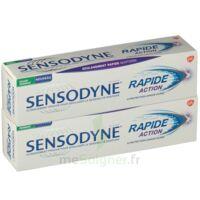Sensodyne Rapide Pâte Dentifrice Dents Sensibles 2*75ml à ROCHEMAURE