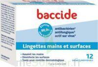 Baccide Lingette Désinfectante Mains & Surface 12 Pochettes à ROCHEMAURE