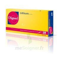 Oligosol Lithium Solution Buvable En Ampoule Ou En Récipient Unidose 28amp/2ml à ROCHEMAURE