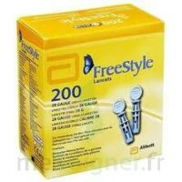 Freestyle Papillon Lancettes B/200 à ROCHEMAURE