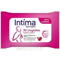 Intima Gyn'expert Lingettes Cranberry Paquet/30 à ROCHEMAURE