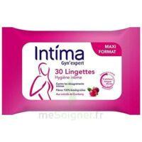 Intima Gyn'expert Lingettes Cranberry Paquet/30 à ROCHEMAURE
