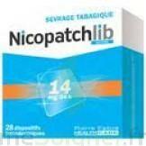 Nicopatchlib 14 Mg/24 H Dispositifs Transdermiques B/28 à ROCHEMAURE