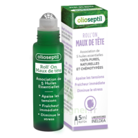 Olioseptil Huile Essentielle Maux De Tête Roll-on/5ml à ROCHEMAURE