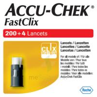 Accu-chek Fastclix Lancettes B/204 à ROCHEMAURE