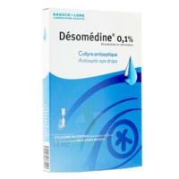 Desomedine 0,1 % Collyre Sol 10fl/0,6ml à ROCHEMAURE