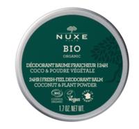 Nuxe Bio Déodorant Baume Fraîcheur 24h Toutes Peaux Pot/50g à ROCHEMAURE