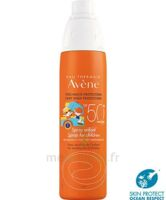 Avène Eau Thermale Solaire Spray Enfant 50+ 200ml à ROCHEMAURE