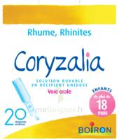 Boiron Coryzalia Solution Buvable Unidose B/20 à ROCHEMAURE