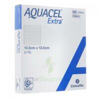 Aquacel Extra Pansement Hydrofiber Stérile 12,5x12,5cm B/16 à ROCHEMAURE
