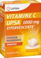 Vitamine C Upsa Effervescente 1000 Mg, Comprimé Effervescent à ROCHEMAURE