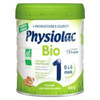 Physiolac Bio 1 Lait En Poudre B/800g à ROCHEMAURE